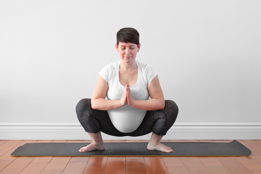 6 Yoga Poses For Your Third Trimester